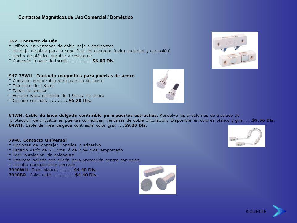 Contactos Magnéticos de Uso Comercial / Doméstico