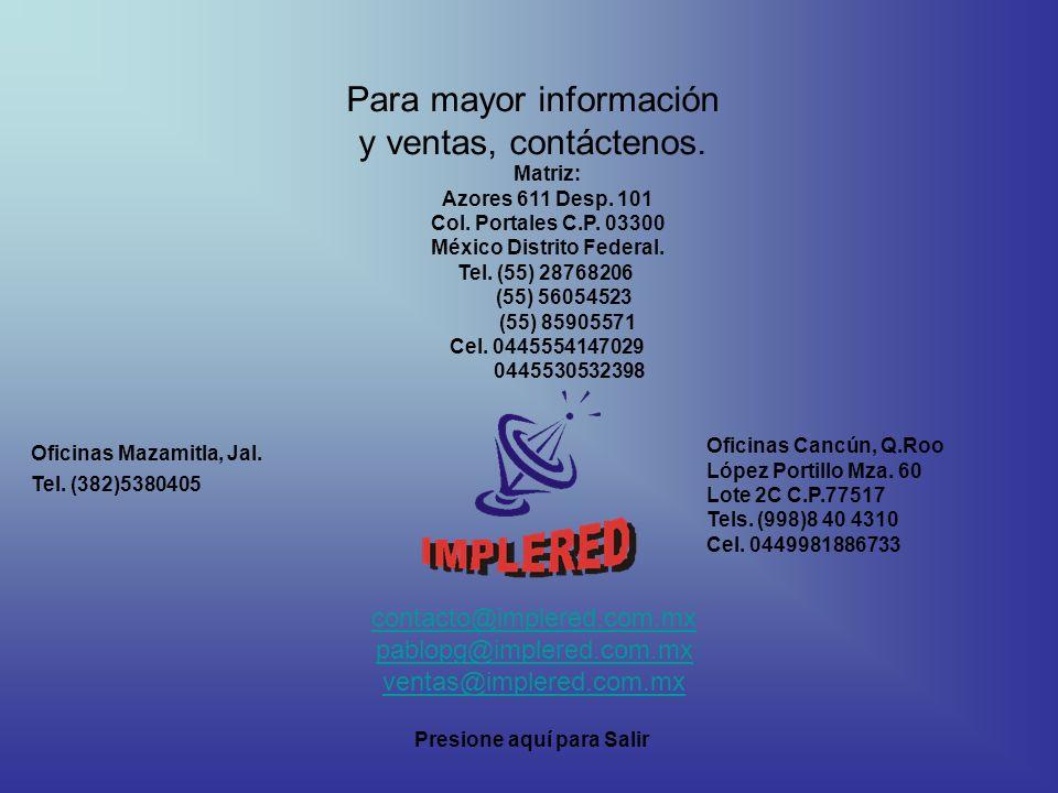 México Distrito Federal.