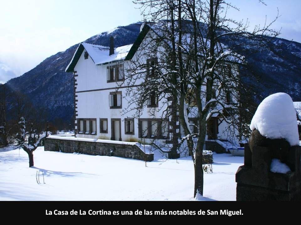 La Casa de La Cortina es una de las más notables de San Miguel.