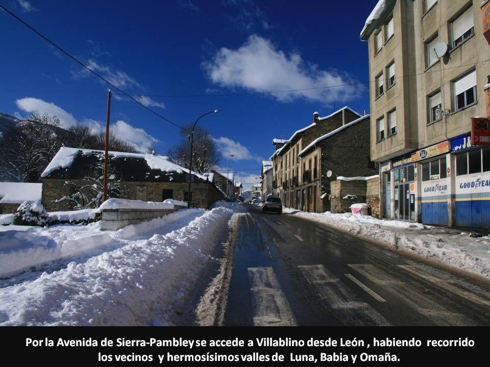 los vecinos y hermosísimos valles de Luna, Babia y Omaña.