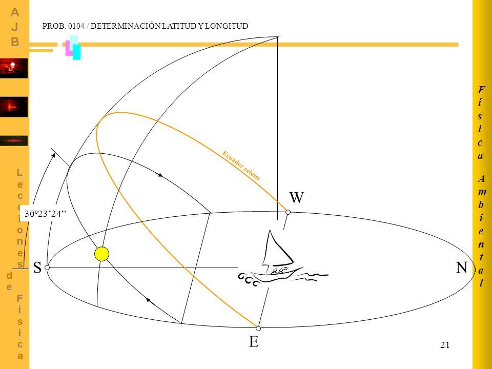 S E W N Física Ambiental 30º23'24''