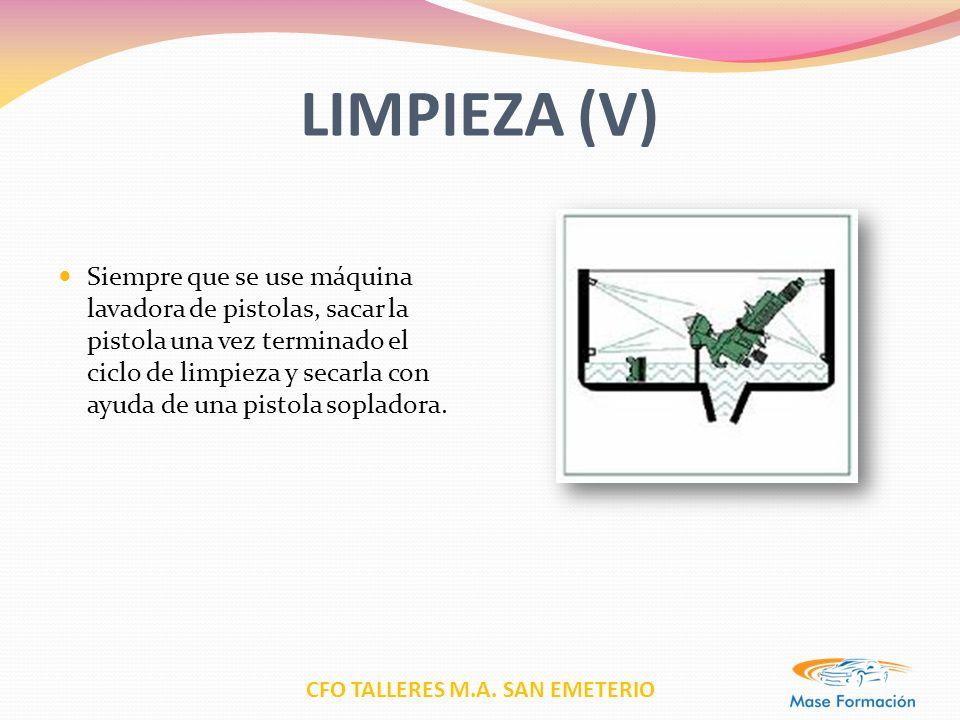 LIMPIEZA (V)
