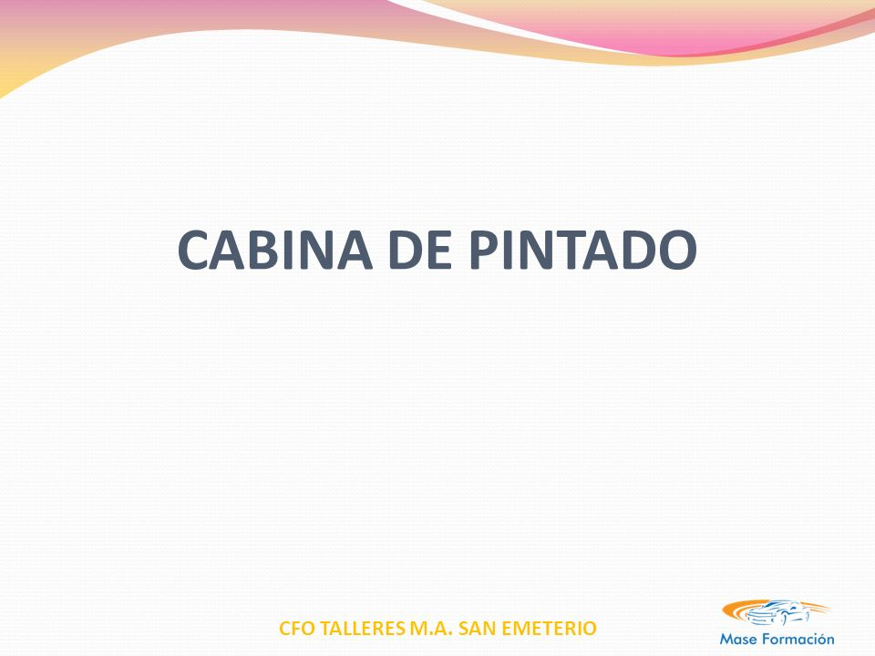 CABINA DE PINTADO