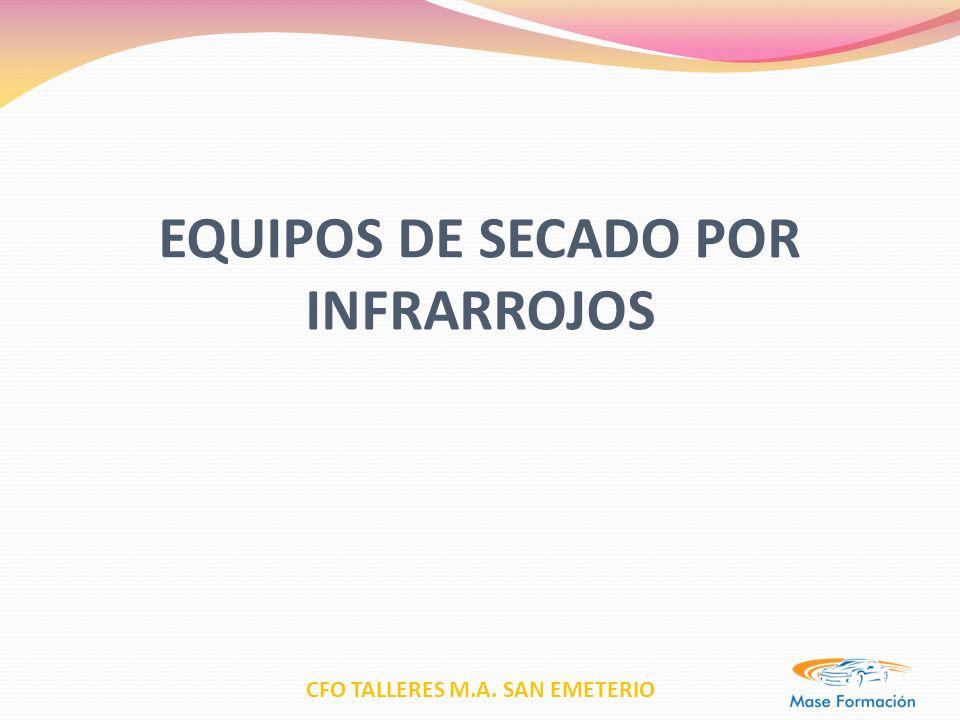 EQUIPOS DE SECADO POR INFRARROJOS