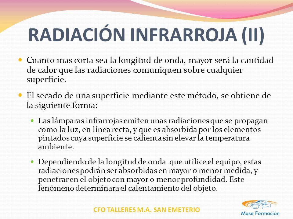 RADIACIÓN INFRARROJA (II)