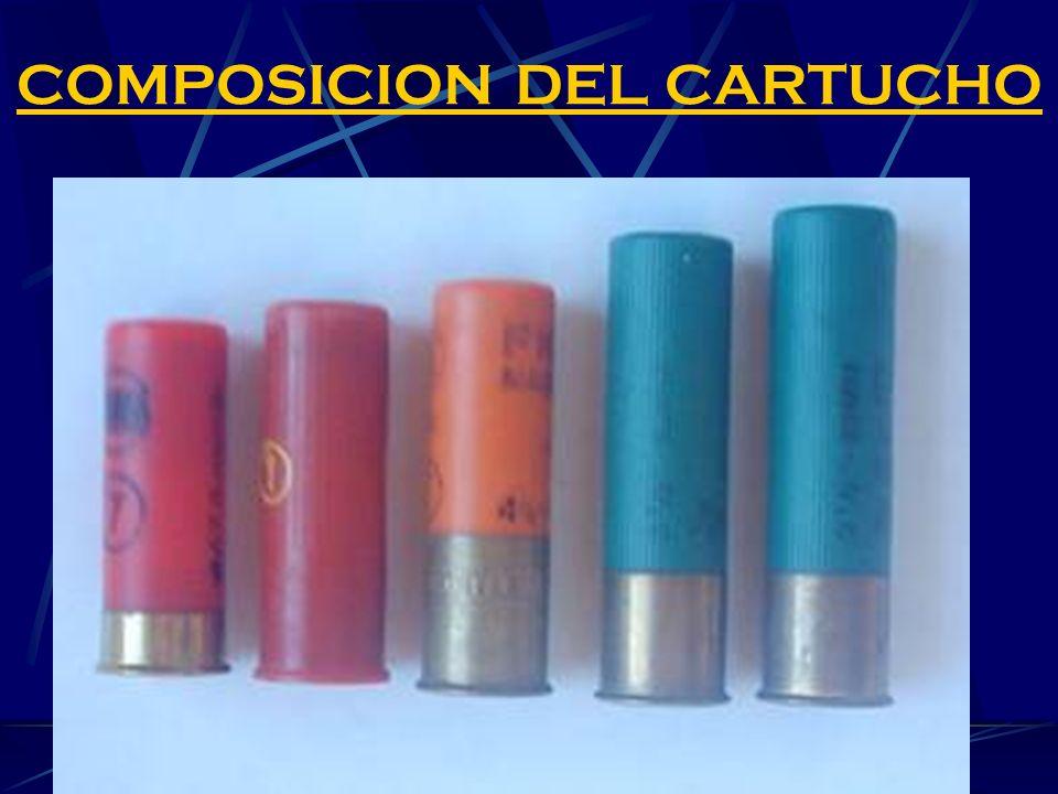 COMPOSICION DEL CARTUCHO