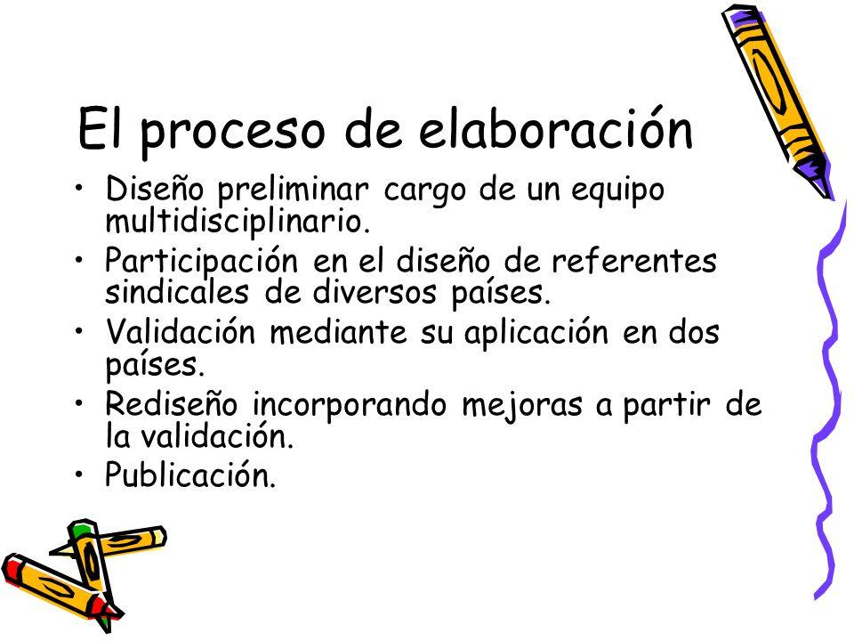 El proceso de elaboración