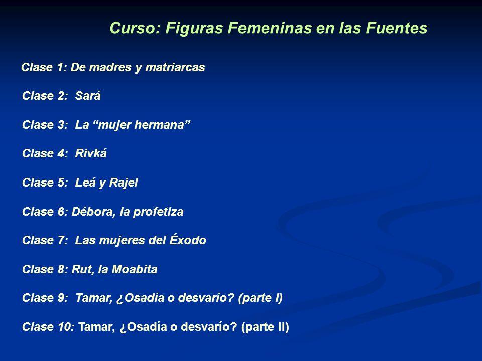 Curso: Figuras Femeninas en las Fuentes