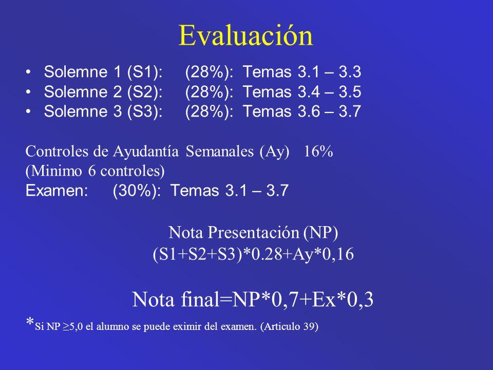 Nota Presentación (NP)