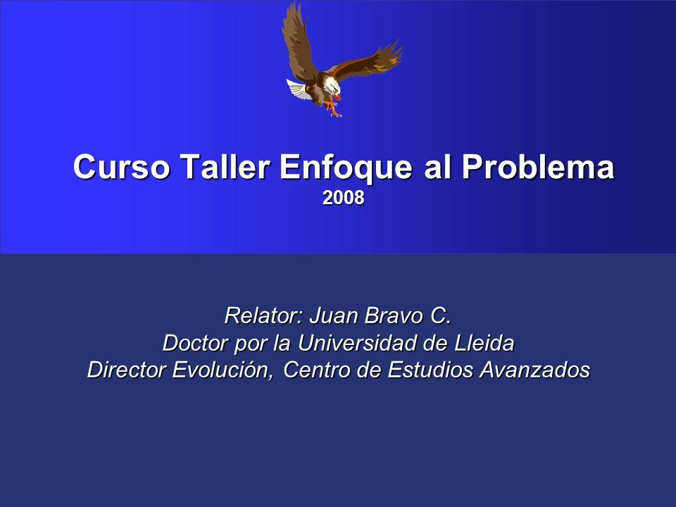 Curso Taller Enfoque al Problema 2008