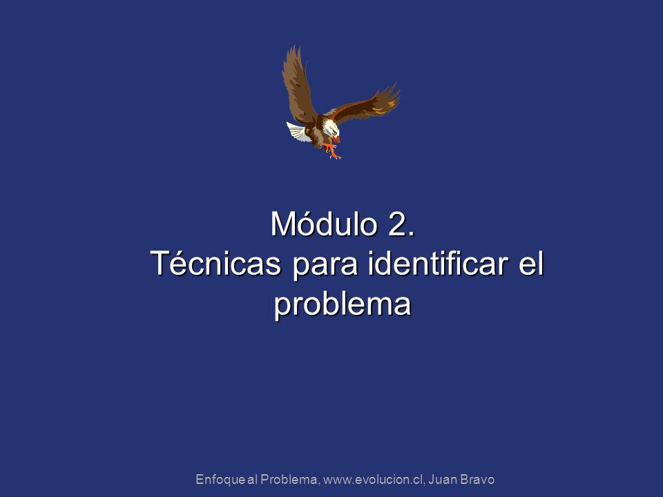 Módulo 2. Técnicas para identificar el problema