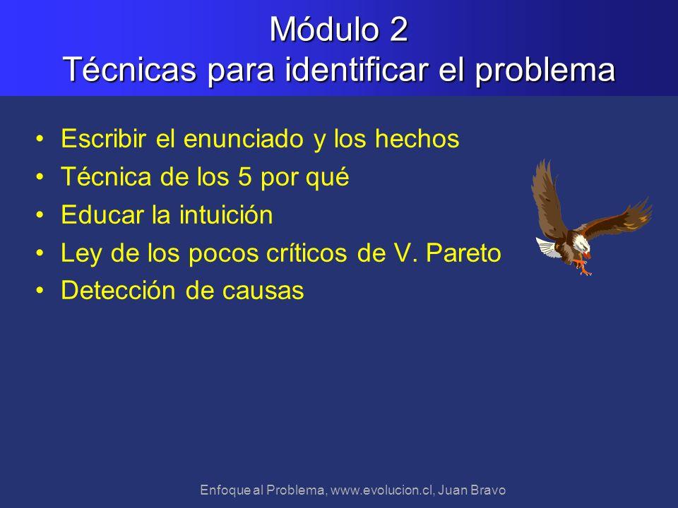 Módulo 2 Técnicas para identificar el problema