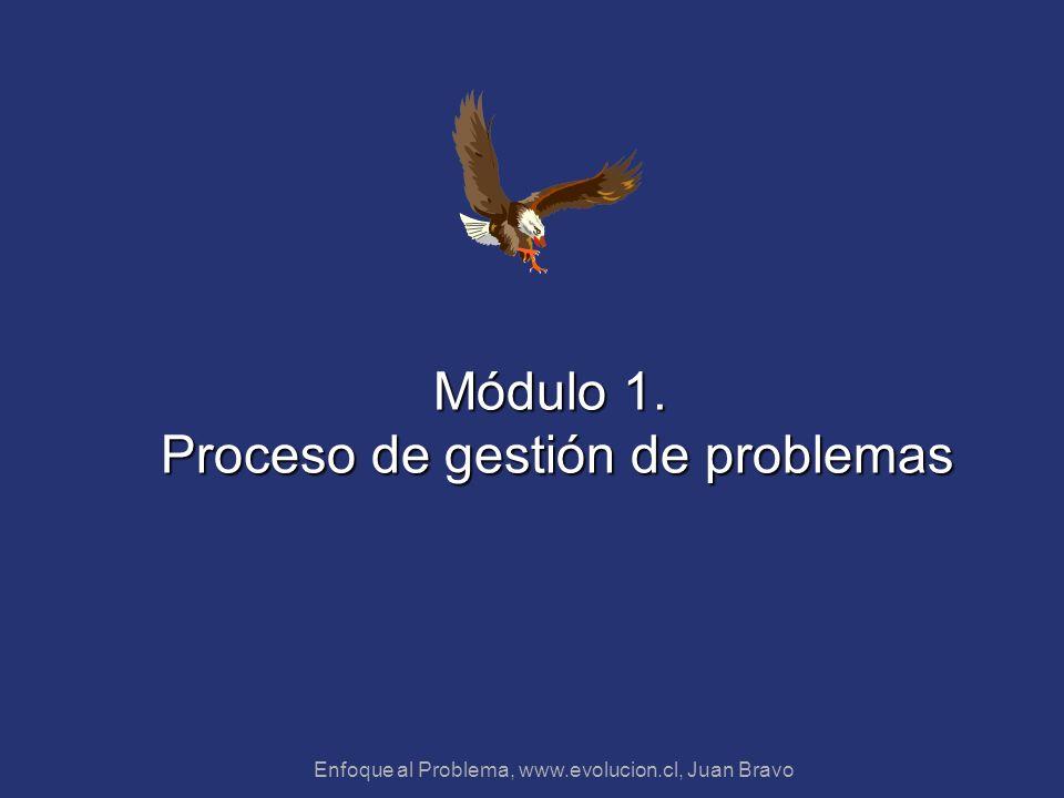 Módulo 1. Proceso de gestión de problemas