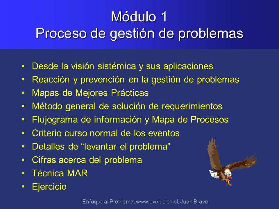 Módulo 1 Proceso de gestión de problemas