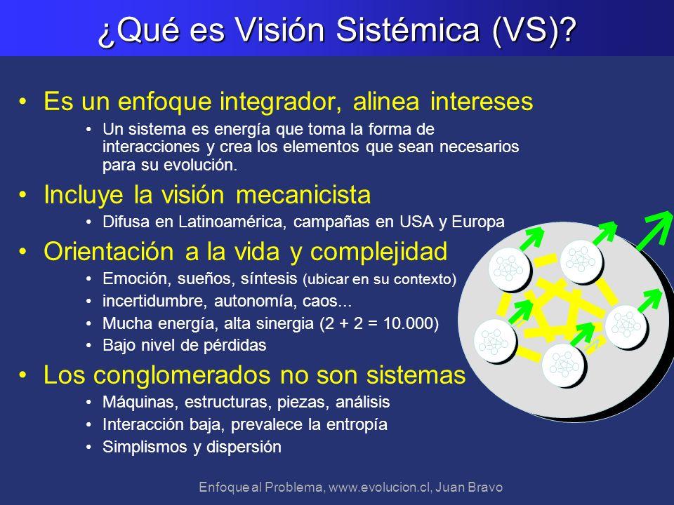 ¿Qué es Visión Sistémica (VS)