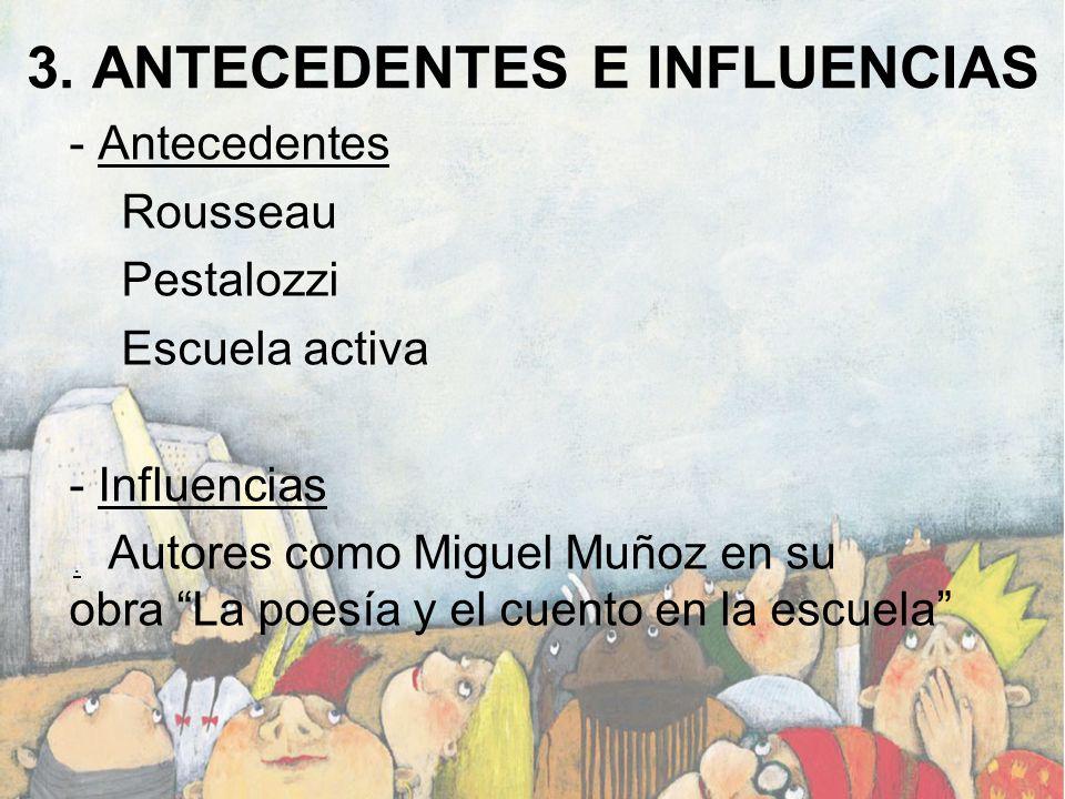 3. ANTECEDENTES E INFLUENCIAS