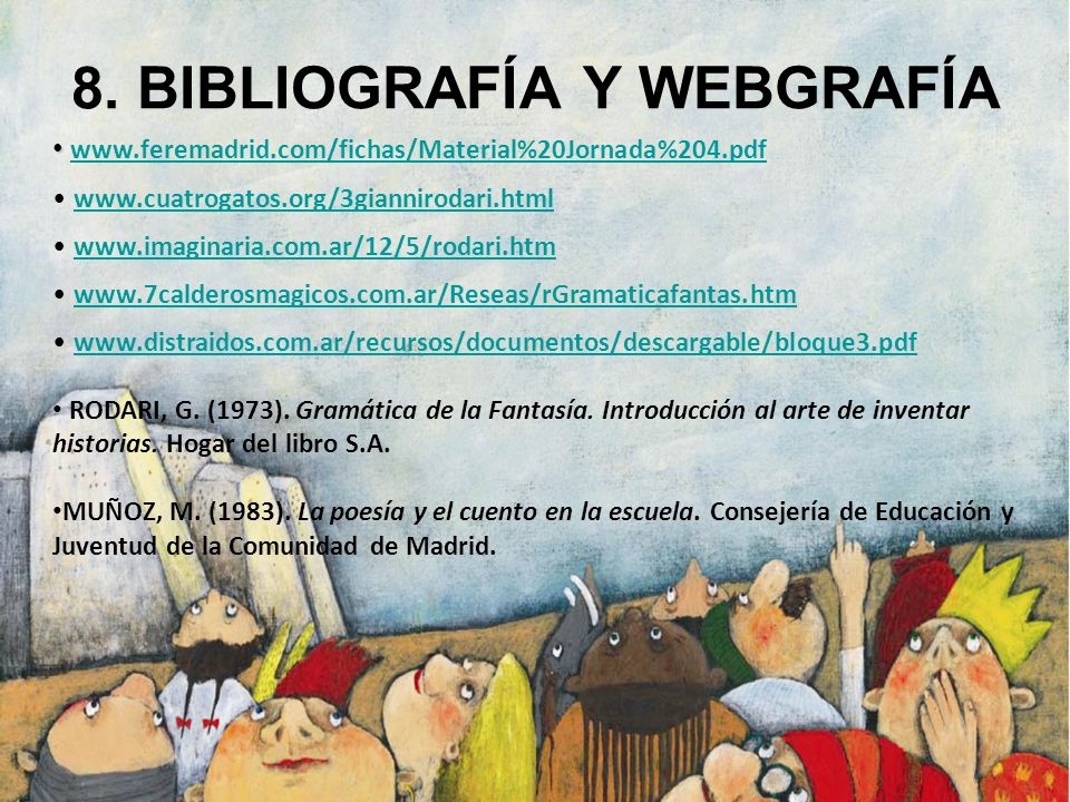 8. BIBLIOGRAFÍA Y WEBGRAFÍA