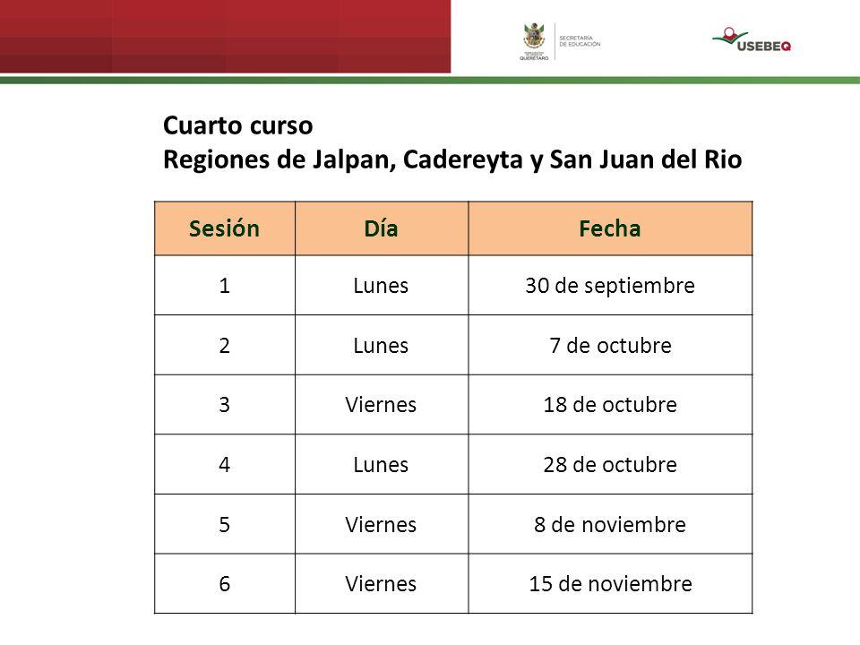 Regiones de Jalpan, Cadereyta y San Juan del Rio