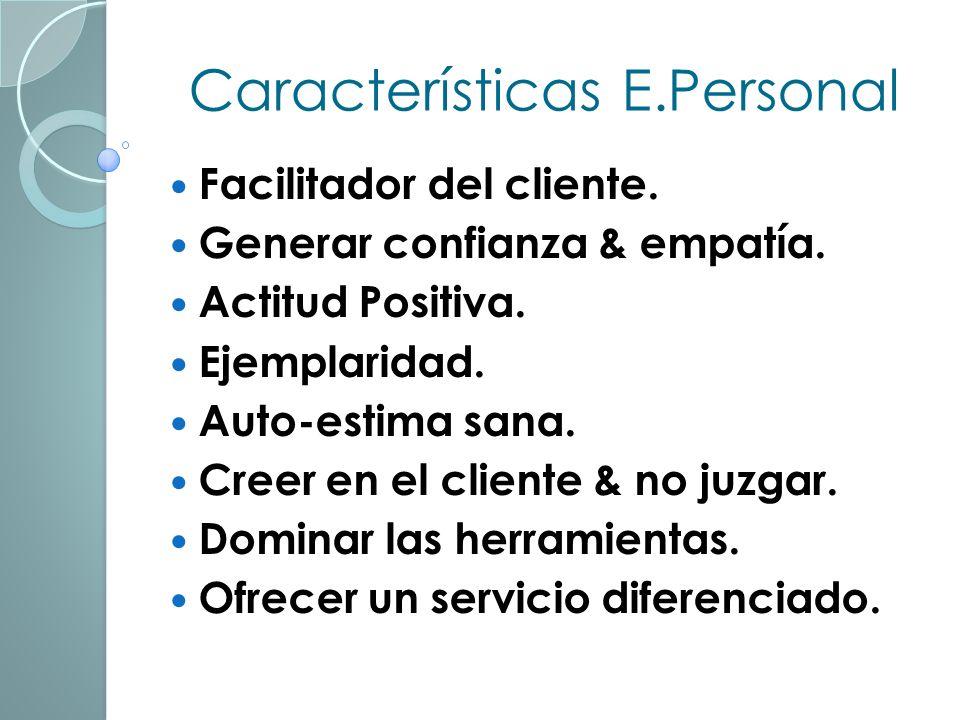 Características E.Personal