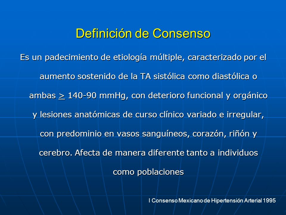Definición de Consenso