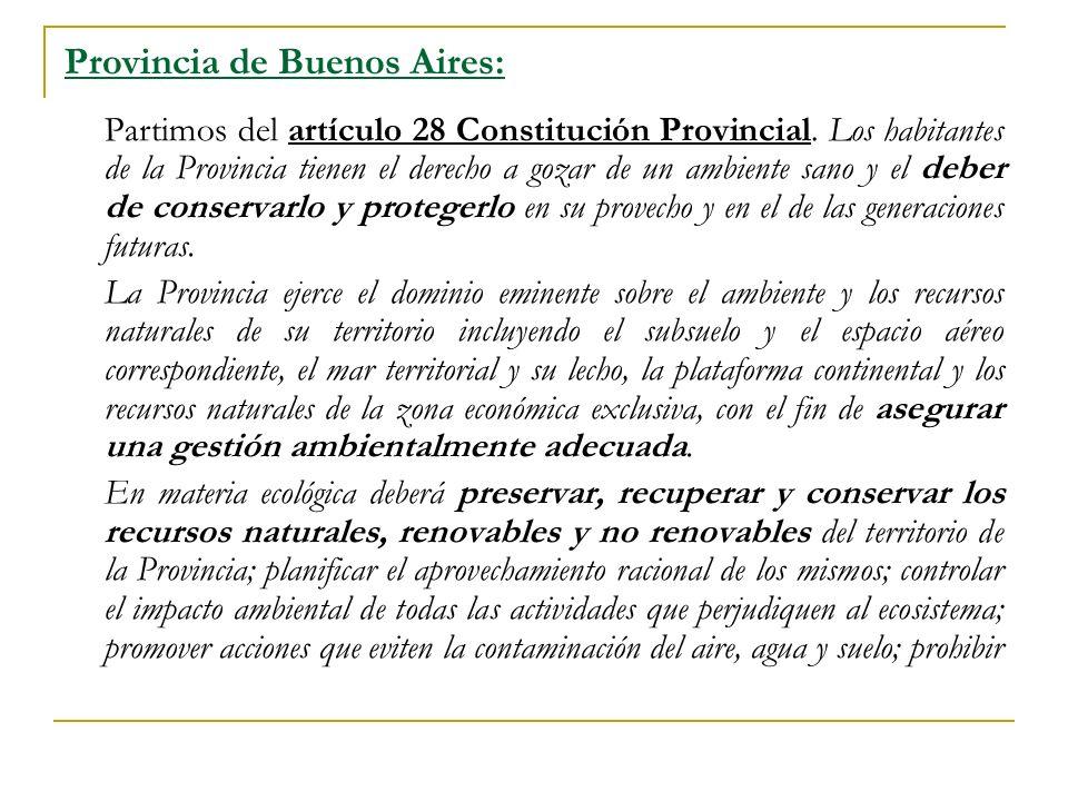 Provincia de Buenos Aires: