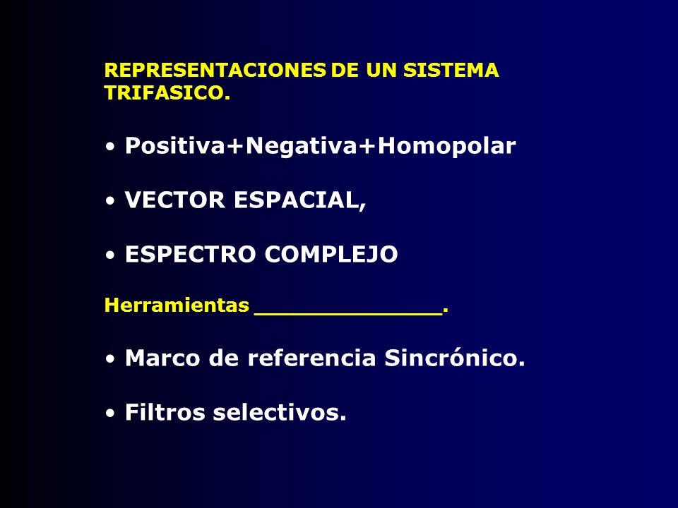 Positiva+Negativa+Homopolar VECTOR ESPACIAL,