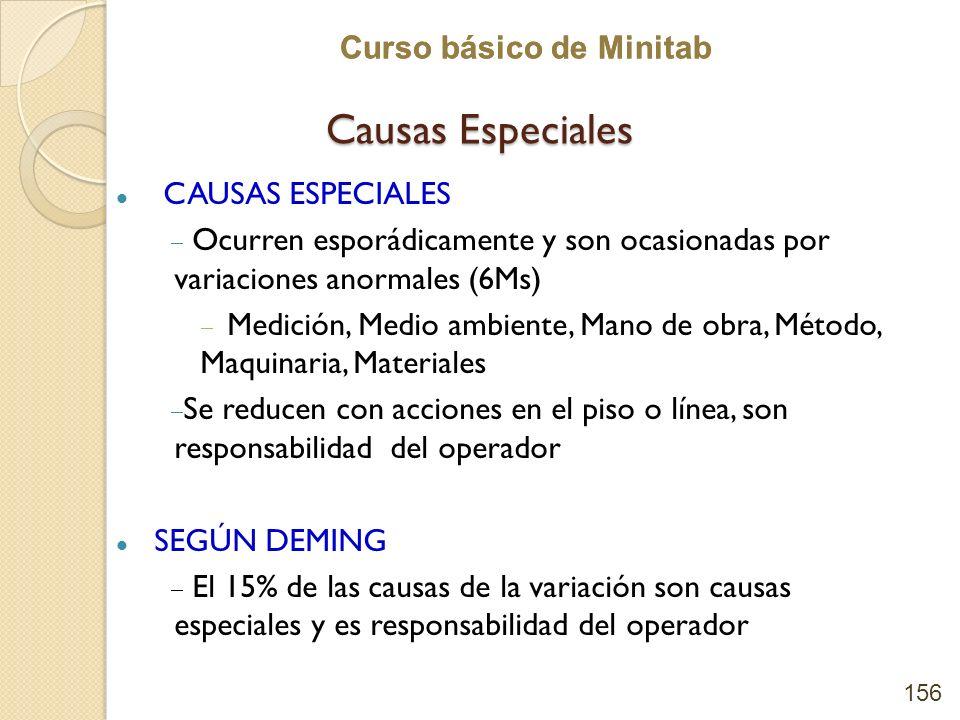 Causas Especiales CAUSAS ESPECIALES