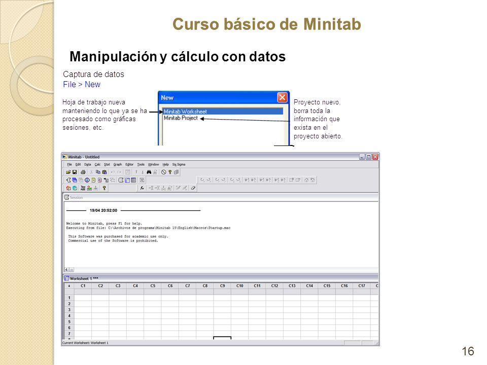 Manipulación y cálculo con datos
