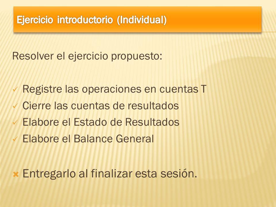 Ejercicio introductorio (Individual)