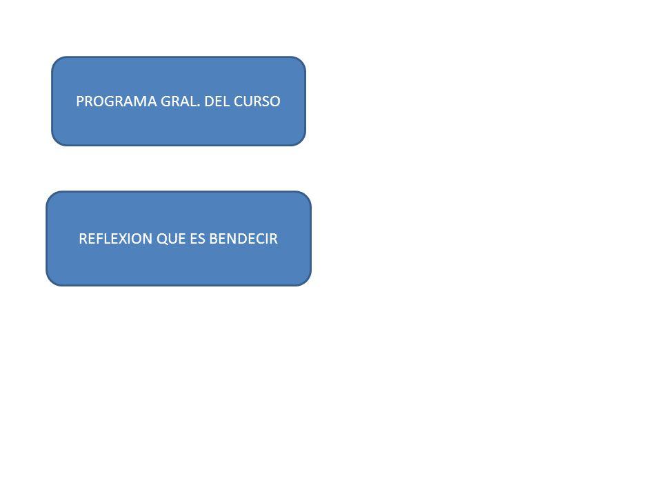 PROGRAMA GRAL. DEL CURSO