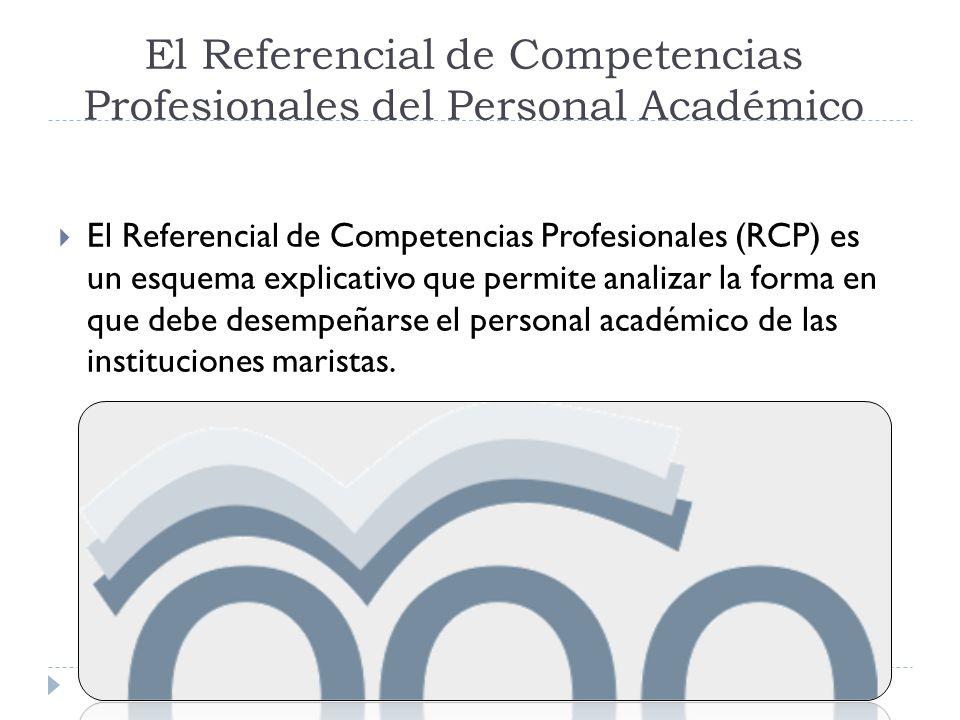 El Referencial de Competencias Profesionales del Personal Académico
