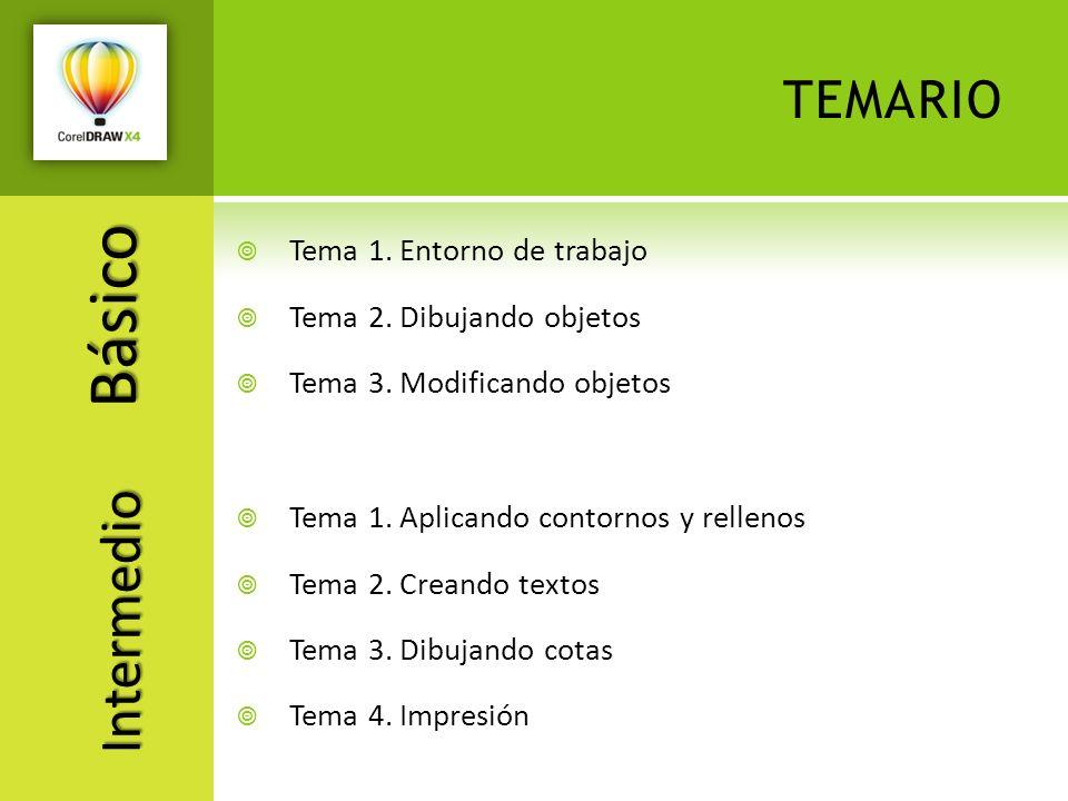 Básico temario Intermedio Tema 1. Entorno de trabajo