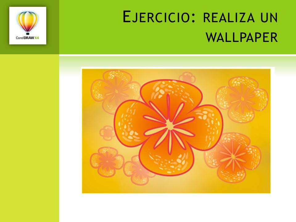Ejercicio: realiza un wallpaper