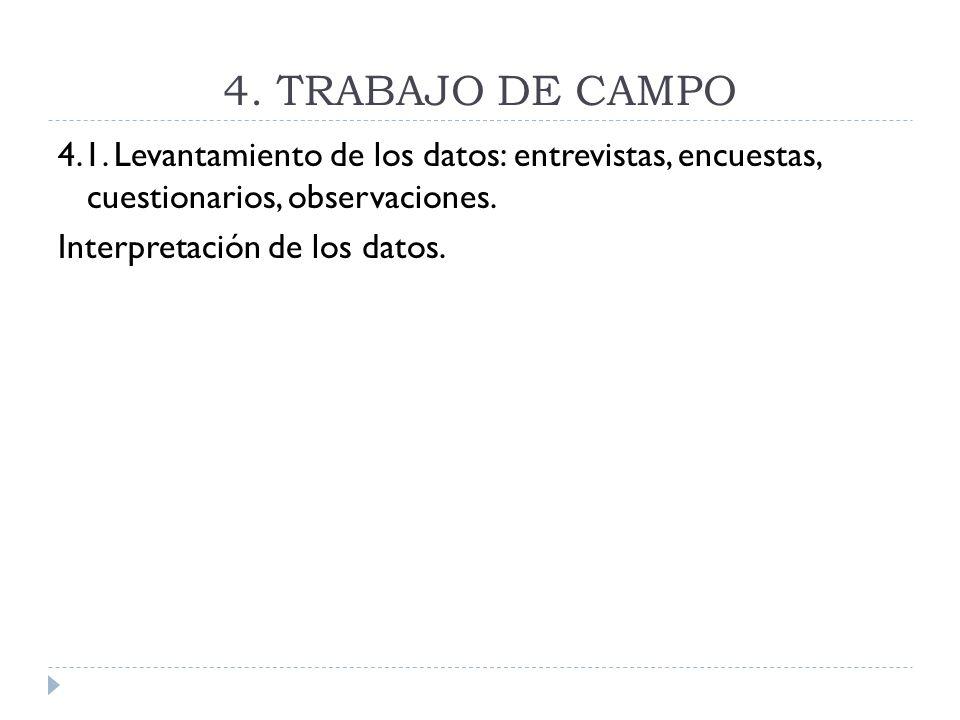 4.TRABAJO DE CAMPO4.1.