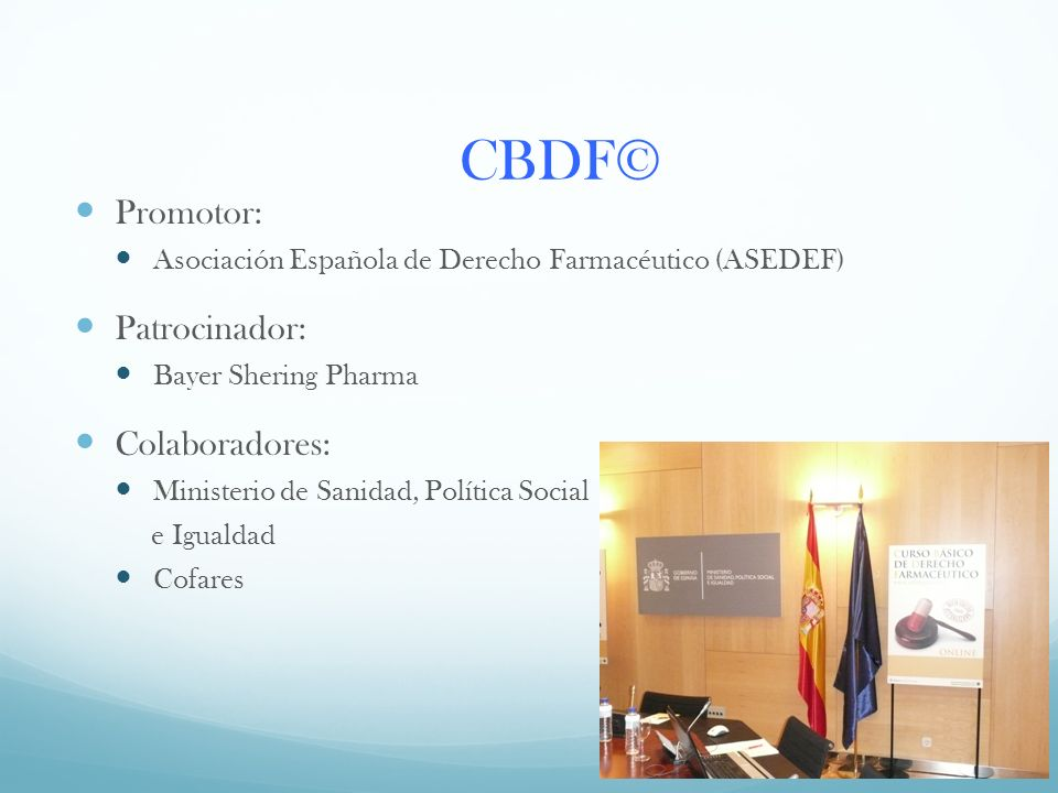 CBDF© Promotor: Patrocinador: Colaboradores: