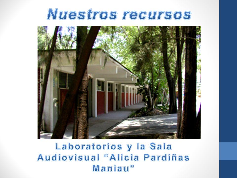 Laboratorios y la Sala Audiovisual Alicia Pardiñas Maniau