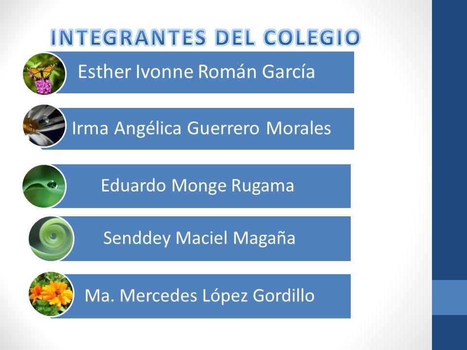 INTEGRANTES DEL COLEGIO