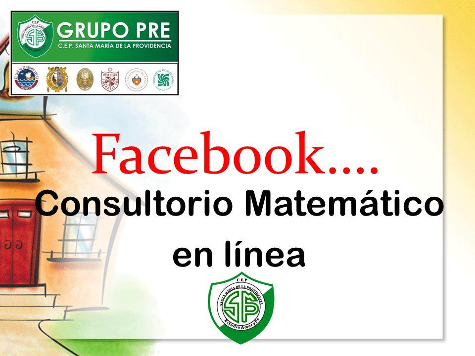 Consultorio Matemático en línea