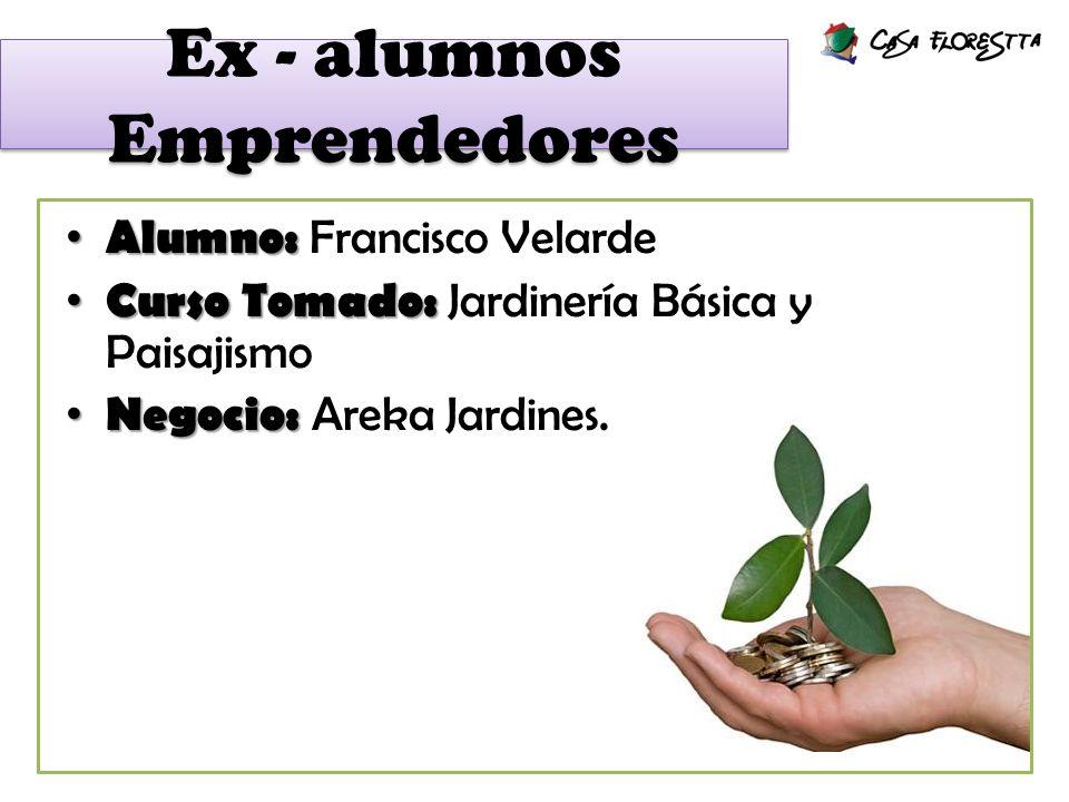 Ex - alumnos Emprendedores