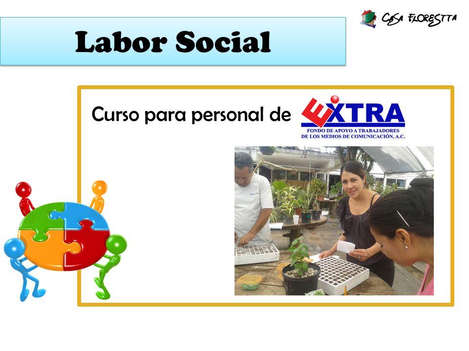 Labor Social Curso para personal de