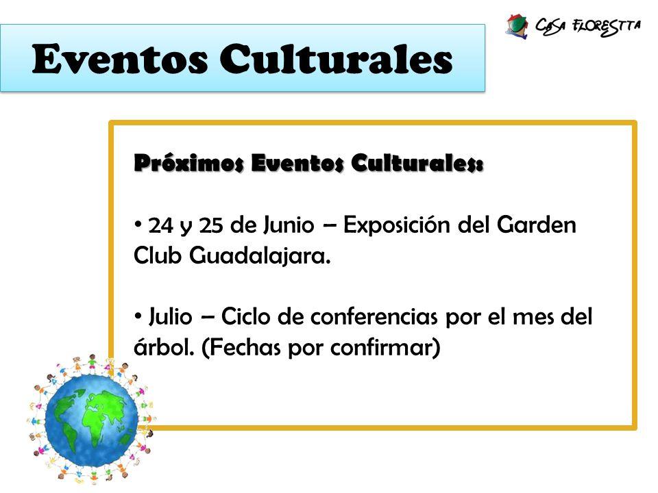 Eventos Culturales Próximos Eventos Culturales: