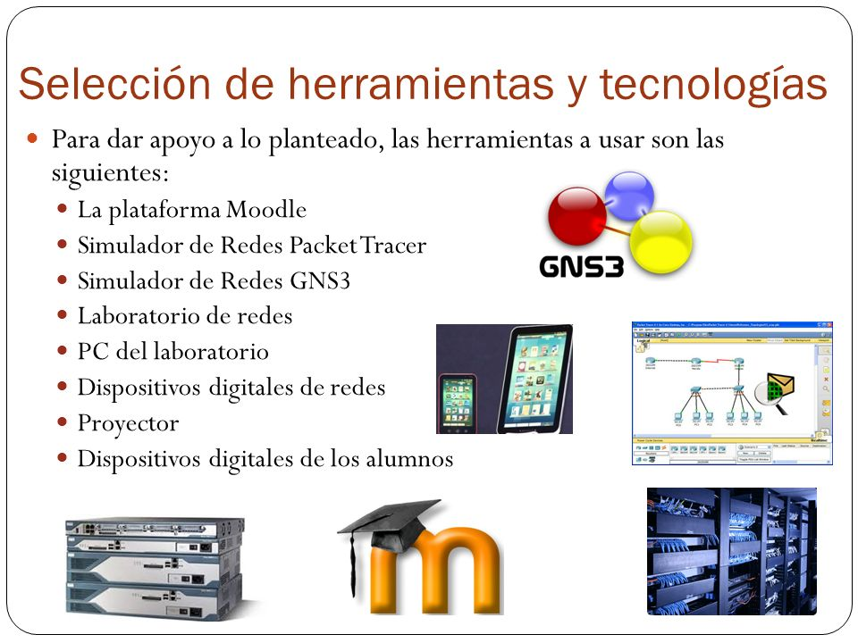 Selección de herramientas y tecnologías