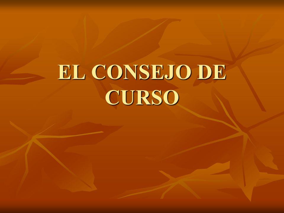 EL CONSEJO DE CURSO