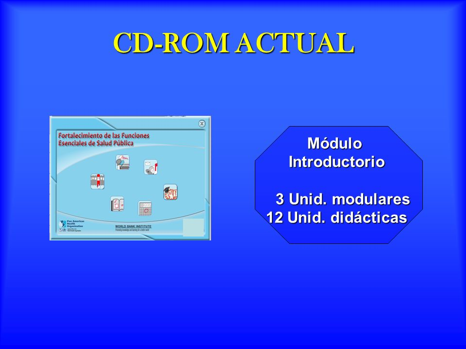 CD-ROM ACTUAL Módulo Introductorio 3 Unid. modulares
