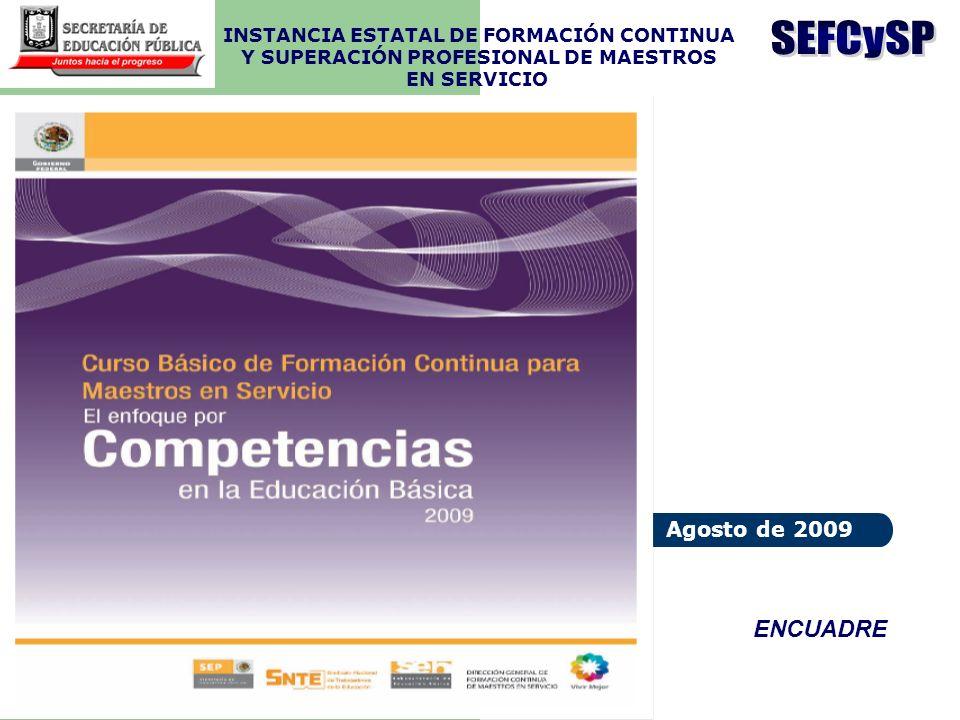 SEFCySP ENCUADRE Agosto de 2009