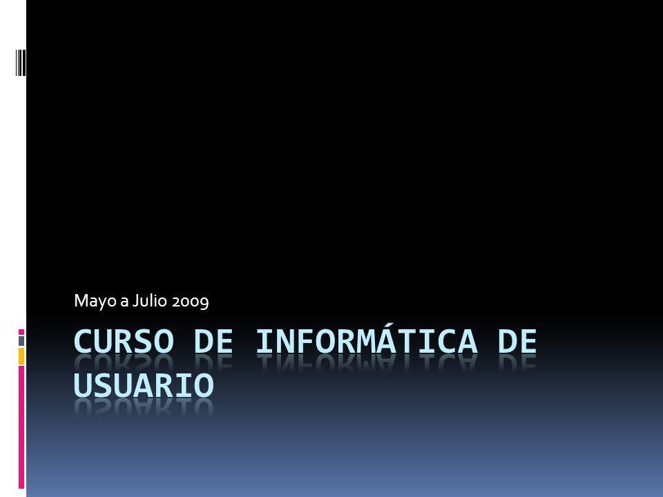 Curso de Informática de Usuario