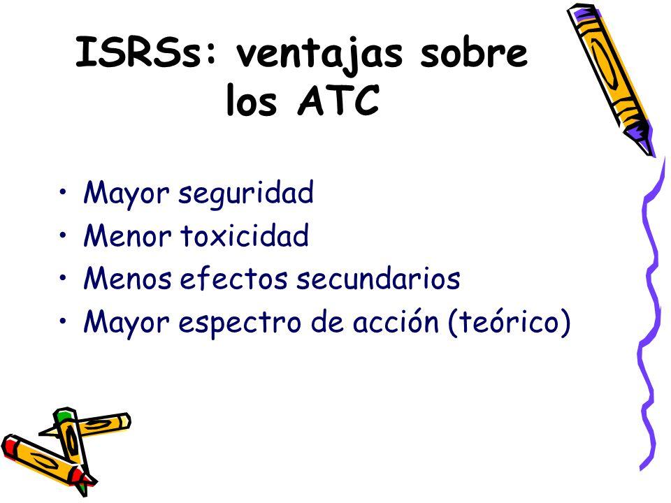 ISRSs: ventajas sobre los ATC