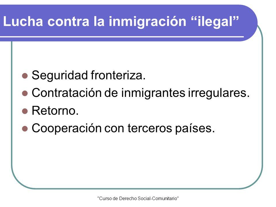 Lucha contra la inmigración ilegal