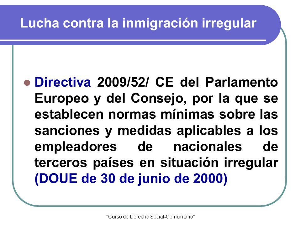 Lucha contra la inmigración irregular