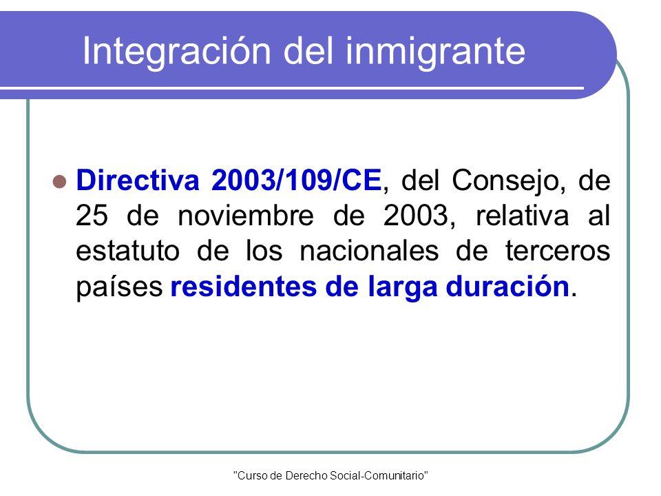 Integración del inmigrante
